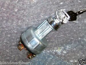 Komatsu Backhoe Ignition Switch Wb140 2 Wb140 2n Wb150 2