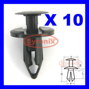 Land Rover Wheel Arch Clips Trim Liner Lining Fastener P38 Range Rover Discovery
