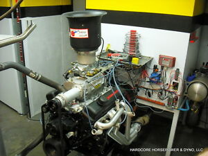 350ci Small Block Chevy Blown Street Engine 450hp 500tq Built to order Dyno Tune