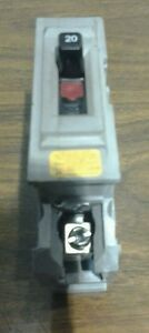 Wadsworth Milbank A20ni Circuit Breaker 20amp