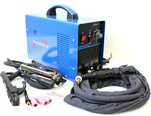 Dual Voltage 110v 220v Welder 200 Amp Tig Torch Stick Arc Argon Gas Welding