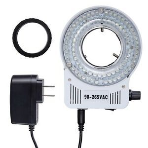 Amscope Led 80s 80 Led Microscope Compact Ring Light With Built in Dimmer
