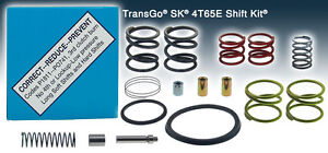Transgo Shift Kit Sk 4t65e Fix Codes P1811 P0741 Valve Body 1997 On Sk4t65e