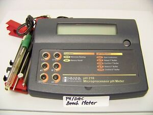 Ph dgc Bench Meter ph Probe Included