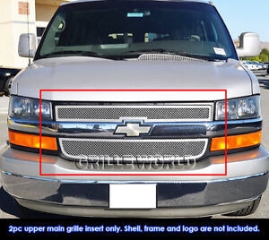 Fits 2003 2016 Chevy Explorer Conversion Van Stainless Steel Mesh Grille