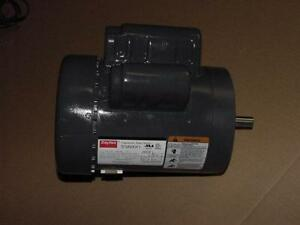 Dayton T63cxcks 1379 9mxk1 1 Hp Capacitor Start Electric Motor Single Shaft