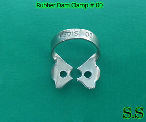 20 Pc Endodontic Rubber Dam Clamp 00