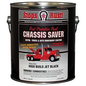 Magnet Paint Ucp99 01 Chassis Saver Paint Gloss Black 1 Gallon Can