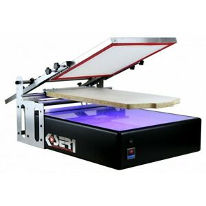 Screen Printing Machine With Exposure Uv T shirt Printer Kit Silkscreen