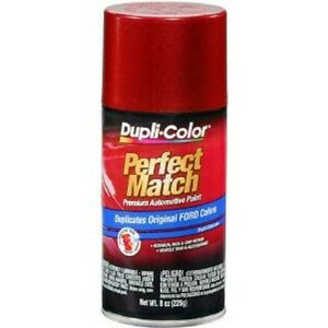 Duplicolor Bfm0317 Perfect Match Automotive Paint Ford Electric Red Metallic