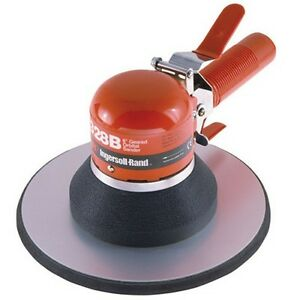 Ingersoll Rand 328b Air Orbital Sander Dual Action Geared 825 Ppm 8 Pad