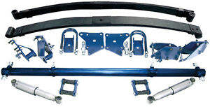 Tci 1937 To 1939 Chevrolet 1 2 Ton Pickup Leaf Spring Rear Suspension