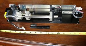 Linear Actuator 5 Phase Stepper Motor Limit Switches Fine Leadscrew Assembly Cnc