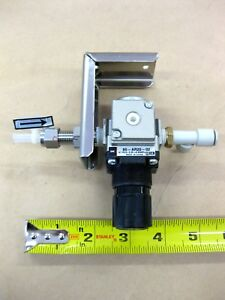Smc Pneumatic Pressure Regulator Stainless Bracket 80 ar20 02 Tube Fitting