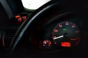 P3 Cars Integrated Vent Boost Gauge Audi B5 A4 S4 Rs4 98 05