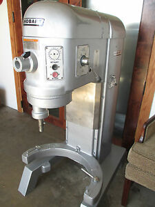 Hobart Mixer 80 Qt With Bowl Whip And Hook Great Condition