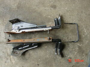 94 01 Jeep Xj Cherokee Front Seat Frame Track Right Passengers Side Slider Riser