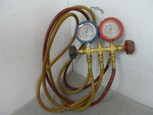 Imperial Hvac Gauges W hoses