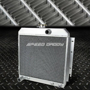 3 Row Aluminum Racing Radiator 63 69 Dodge Charger Dart Plymouth Satellite V8