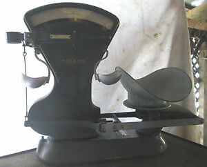 Vintage Toledo Store Counter Scale Model 4652