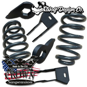 2000 2006 Suv 2 3 Front Keys 4 Rear Drop Coils Springs Lowering Kit