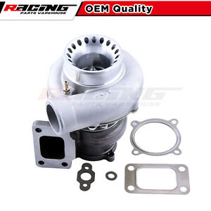T3 Flange Gt35 Gt3582 Universal A R 70 Anti Surge Turbo Turbocharger Rpw