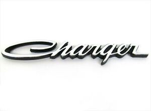 1971 1974 Dodge Charger Emblem Decal Nameplate Mopar Genuine Oem Brand New
