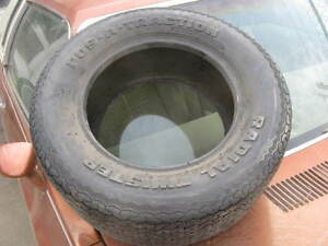 Nos Pos a traction Radial Twister Cr50 13 Vintage Tire Raised White Letters