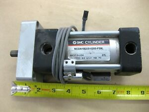Smc Pneumatic Air Cylinder Ncda1b200 0200 f59l Magnetic Position Sensors Switch