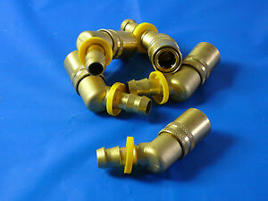 Series 300 Brass Quick Connect Coupler Push Lok packages of 50 pcs. $145.00
