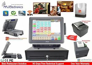 All in one Point Of Sale Complete System Restaurant Bar Night Club