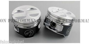 Ford 302 5 0 Sealed Power Hypereutectic Coated Pistons Moly Ring Kit 1996 00 Std