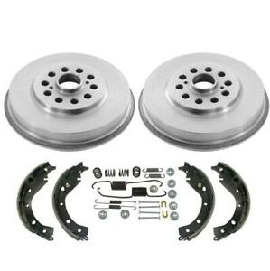 Rear Drums Brake Shoes Spring Kit For Toyota Matrix All Wheel Drive 2003 2006