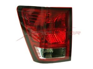 For 2007 2010 Jeep Grand Cherokee Left Side Driver Tail Light