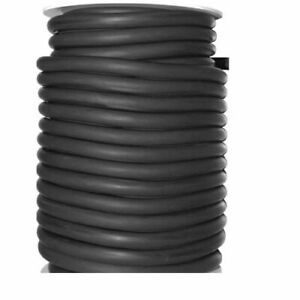 50ft Black Rubber Surgical Latex Tubing 1 4 Id 3 8 Od Usa Made 50 Foot Reel
