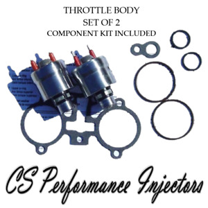 90lbs hr Upgrade Gm Tbi Throttle Body Fuel Injectors 2 Set For 4 3 5 0 5 7 7 4