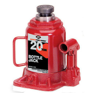 American Forge Foundry 3520 20 Ton Bottle Jack 9 5 8 To 18 1 4 Range