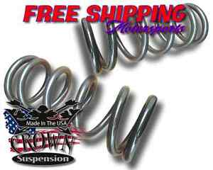 1998 2012 Ford Ranger 4cyl 3 Lowering Drop Coils Springs Kit Crown Suspension