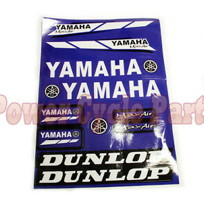 NEW YAMAHA POWERSPORTS STICKER DECALS FOR DIRT BIKE ATV QUAD MOTORCYCLE SCOOTER