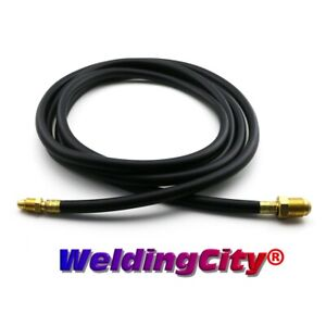 Tig Welding Power Cable Gas Hose 46v30r Rubber 25 Torch 26 Us Seller Fast