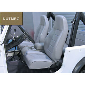 Nutmeg Front Replacement Seat With Recliner For Jeep Cj Wrangler Tj 1976 2002