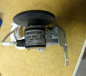Hengstler Rotary Encoder Roller Wheel Assembly 0 527 030 10 30vdc Cnc 3d