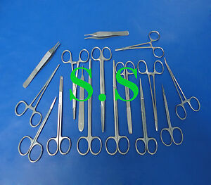 Set Of 16 Pieces Minor Surgery Surgical Instruments Ds 815