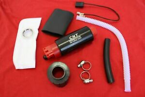 New 255lph High Performance Fuel Pump With Installation Kit Gss340 Replacement