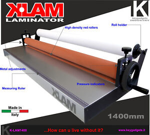 Cold Laminator 55 1 1400mm Laminating Machine Roll Mount Photo Poster