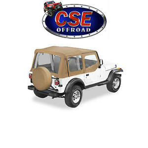 51120 37 Bestop Spice Replace A Top Jeep Wrangler Yj 1988 1995