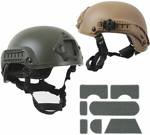 Airsoft quot;Base Jumpquot; Helmet Olive Drab Coyote Brown Paintball Airsoft $79.99