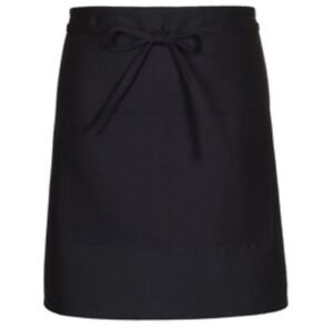 New Black Half Bistro Apron qty 9