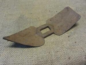 Vintage Pick Axe Head W Rare Shape Antique Old Farming Garden Gardening 8310