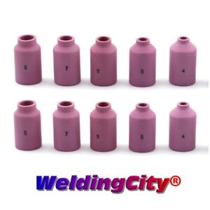 10 pk Assorted Gas Lens Cup 54n14 54n18 4 8 Tig Welding Torch 17 18 26 Usa